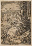 Albrecht Dürer, 'The Virgin and Child with a Pear', 1511