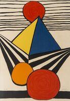 Alexander Calder, 'Pyramid and Red Sun', circa 1975