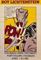 Roy Lichtenstein, 'Sweet Dreams Baby', 1982