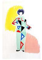 """Sonia Delaunay, 'Original Pochoir """"27 Living Paintings IX"""" by Sonia Delaunay', 1969"""