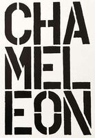 Christopher Wool, 'Chameleon - page from the Black Book', 1989