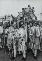 Henri Cartier-Bresson, 'Maharajah of Baria Arrives To Marry, Jaipur, 1948', 1952