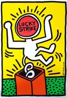 Keith Haring, 'Lucky Strike II', 1987