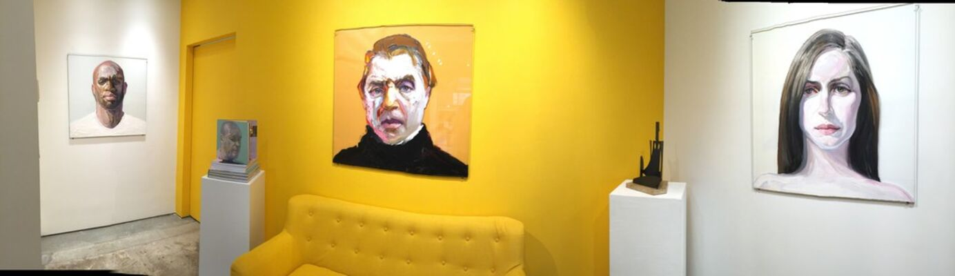 """""""POPULATION DEFACED"""" Featuring Ray Turner, installation view"""