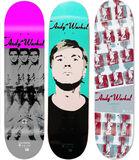 Set of 3 skateboard decks