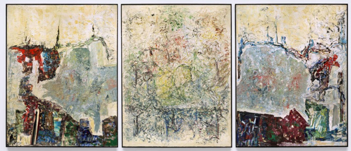 Jean-Paul Riopelle, 'Large Triptych', 1964
