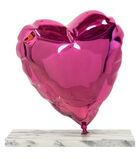 Balloon Heart - Chrome Pink