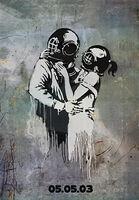 Banksy, 'Think Tank - Bus Stop', 2003