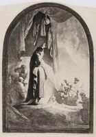 Rembrandt van Rijn, 'The Raising of Lazarus: The Larger Plate', circa 1632