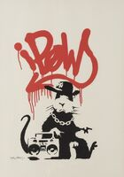 Banksy, 'Gangsta Rat', 2005