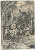 Albrecht Dürer, 'The Flight into Egypt, from: The Life of the Virgin', 1504