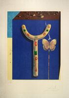 Salvador Dalí, 'Surrealist Crutches, from Memories of Surrealism. ', 1972