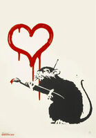 Banksy, 'Love Rat', 2005