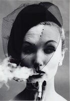 William Klein, 'Smoke & Veil, Paris (Vogue)', 1958