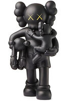 KAWS, 'KAWS Clean Slate Black ', 2018