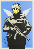 Banksy, 'Flying Copper (unsigned)', 2004