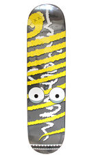Limited Edition Yellow Bendy Skateboard deck
