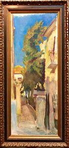 Leonid Balaklav, 'Large Jerusalem Landscape Judaica Oil on Canvas Russian Israeli Artist Balaklav', 20th Century