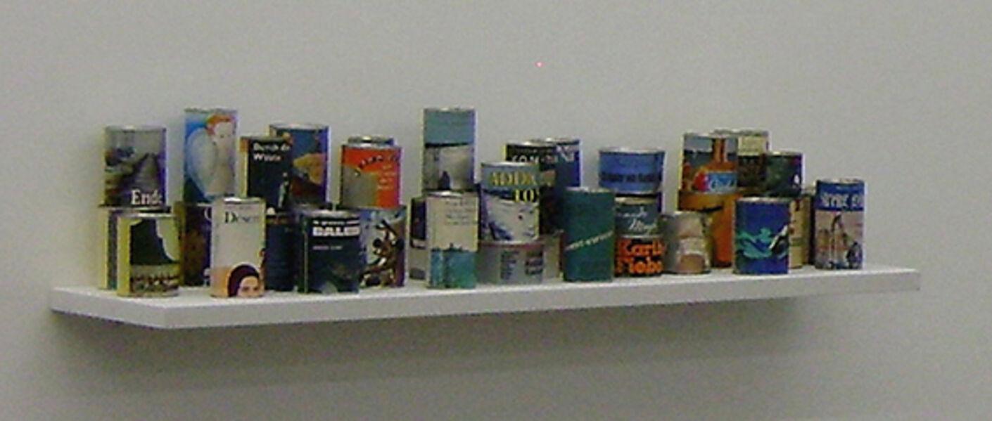 Peter Wüthrich, 'Literary food mensola singola  ', 2009