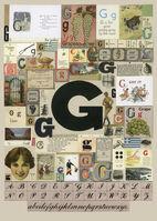 Peter Blake, 'The Letter G', 2007