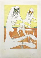 Salvador Dalí, 'BUTTERFLIES OF ANTI-MATTER', 1974