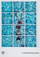 David Hockney, '1984 LA Olympics Poster', 1982