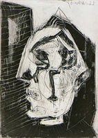 Pablo Picasso, 'Woman Crying Before a Wall', 1937