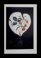 Salvador Dalí, 'Fruits Strawberries', 1970
