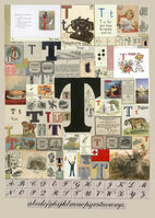 Peter Blake, 'The Letter T', 2007