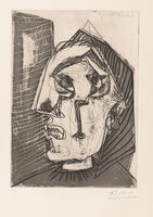 Pablo Picasso, 'Weeping Woman in Front of a Wall', 1937