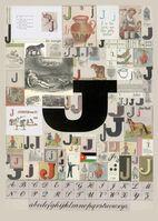 Peter Blake, 'The Letter J', 2007