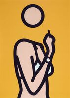 Julian Opie, 'Ruth with Cigarette 3', 2005 -2006