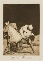 Francisco de Goya, 'Fifteen plates from 'Los Caprichos', the Tenth Edition'