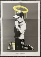 Banksy, 'Forgive Us Our Trespassing Poster', 2010