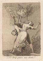 Francisco de Goya, 'Los caprichos: No hay quien nos desate', published 1799