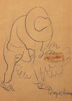 Diego Rivera, 'Paysan à la dinde (Campesino con guajolote)'