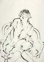 David Hockney, 'Celia Inquiring', 1979