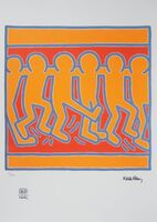 Keith Haring, 'Dancing Crowd', 20th Century