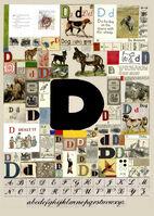 Peter Blake, 'The Letter D', 2007