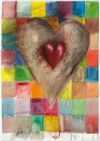 Jim Dine, 'Patched Heart #2', 1993