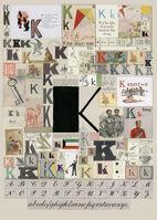 Peter Blake, 'The Letter K', 2007