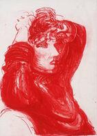 David Hockney, 'Red Celia', 1984