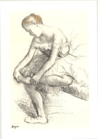 Edgar Degas, 'Dancer Seated', 1998