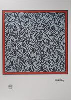 Keith Haring, 'Frenetic dance', 20th Century