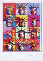 Peter Max, 'Liberty & Justice for All', 2002