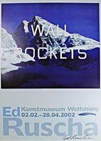 Ed Ruscha, 'Wall Rockets ', 2002