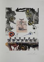 Salvador Dalí, 'Memories of Surrealism Surrealist Gastronomy ', 1971