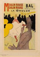 Henri de Toulouse-Lautrec, 'Moulin Rouge'