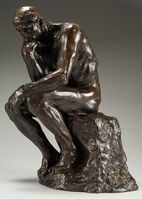 Auguste Rodin, 'Le Penseur (The Thinker), Petit Modèle', Conceived in 1881, 1882, cast by Alexis Rudier between 1920, 1930