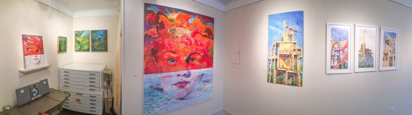 Structure/Nature: Mary Anne Erickson, Laura Hexner and Claire Lambe, installation view